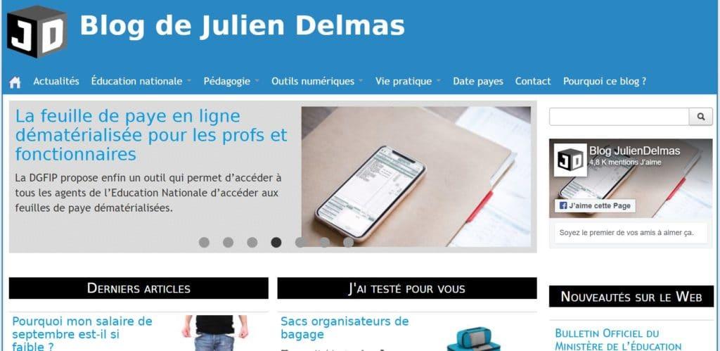Blog Julien Delmas