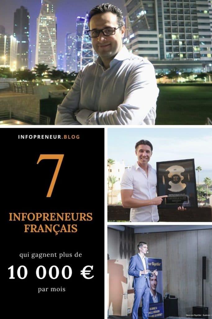 7 Infopreneurs Francais