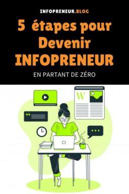 Devenir Infopreneur En Partant De Zero