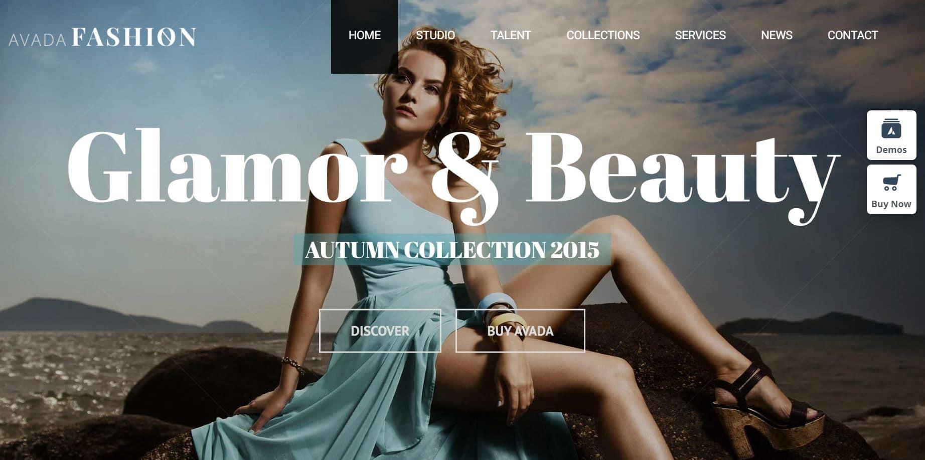 Theme WordPress Premium Avada Fashion