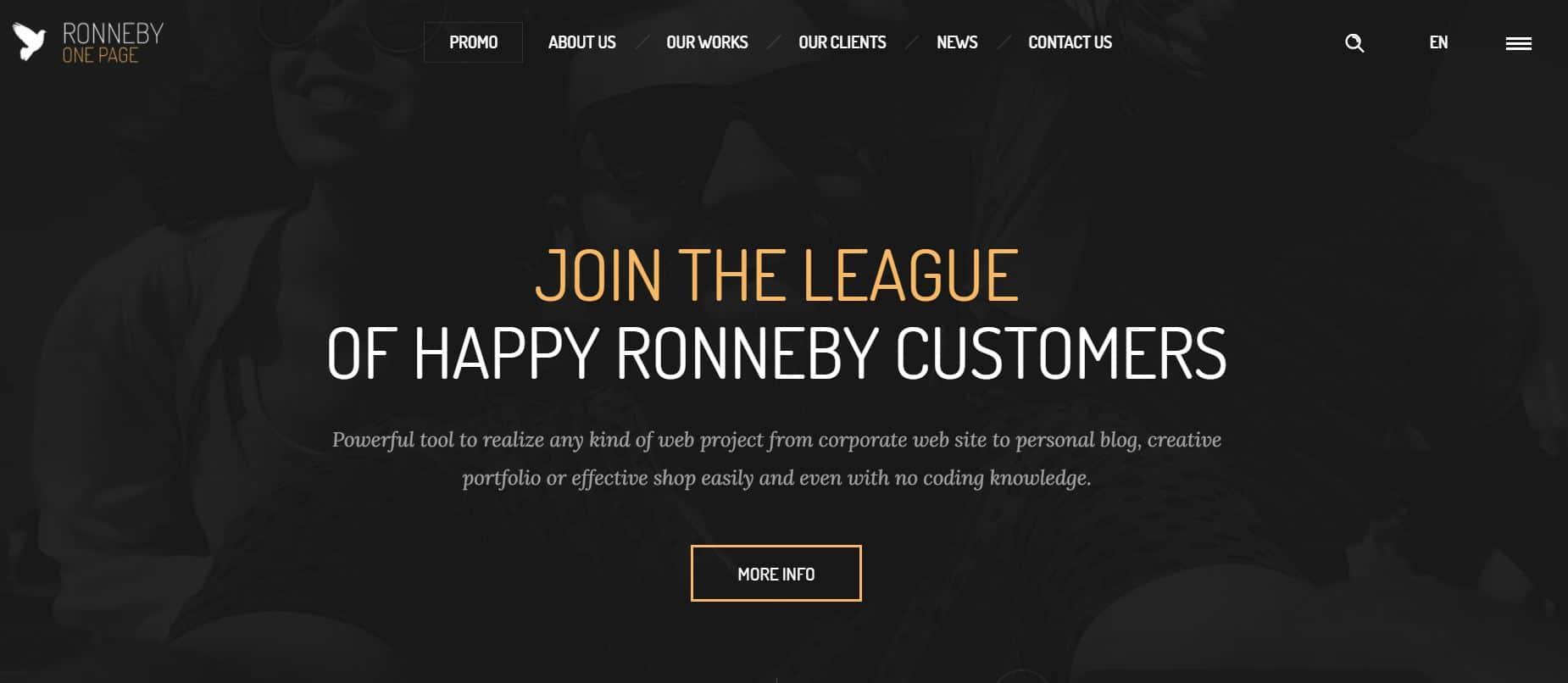 Theme WordPress Premium Ronneby