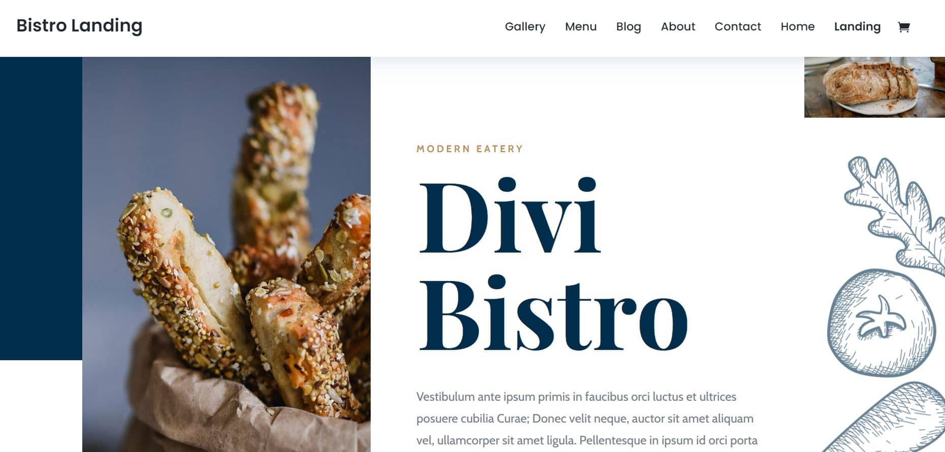 Theme WordPress Premium Divi Bistrot