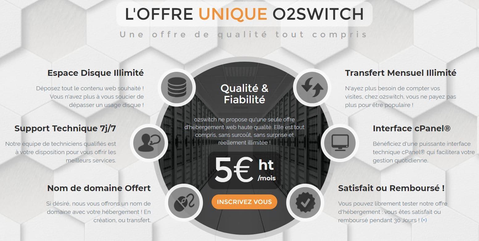 Hébergeur O2switch