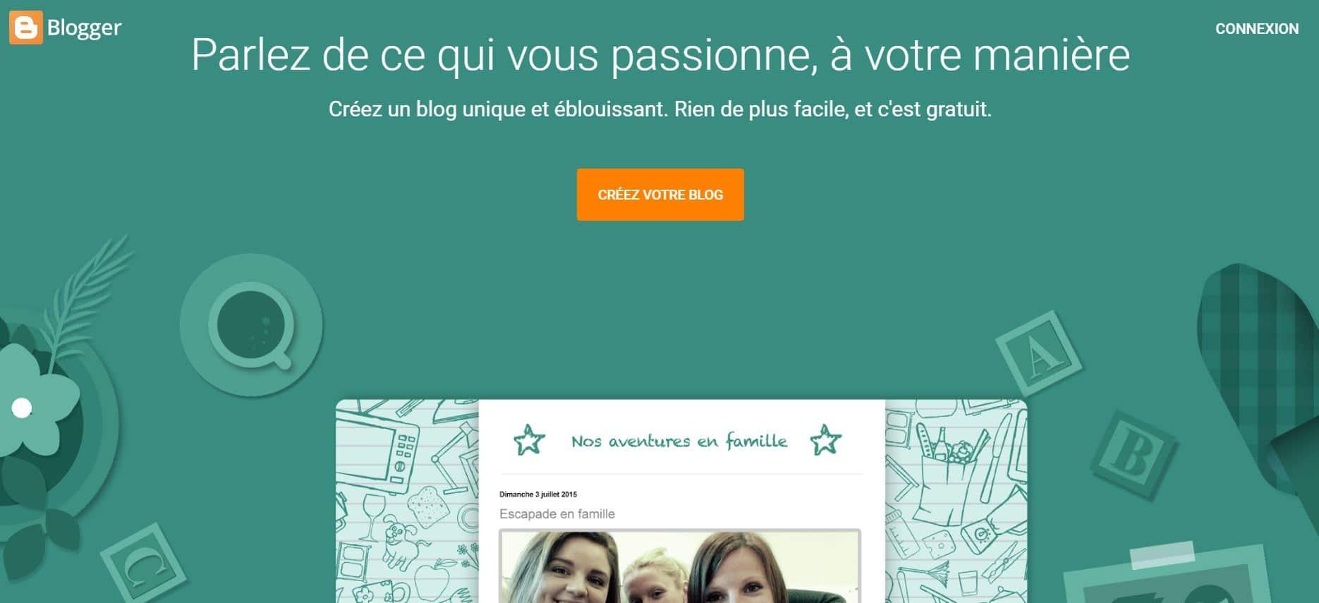 Créer Un Blog Blogger